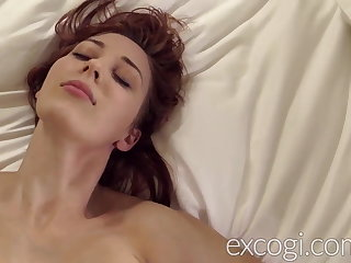 Big Tit Redhead Lactating Young Mom Orgasms in Porn Coming out