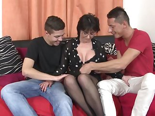 World's best mature moms have a passion young broadcasting